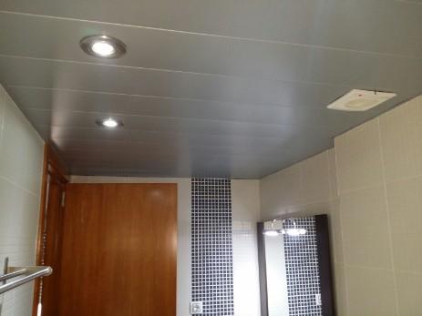 Ba os y cocinas epc techos de aluminio - Falsos techos para banos ...